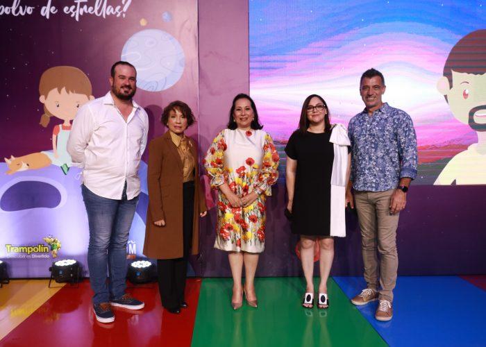 """El pasado martes 7 de septiembre, la Fundación Cormidom llevó a cabo el lanzamiento del libro infantil """"Por qué somos polvo de estrellas"""" en el Museo Trampolín"""