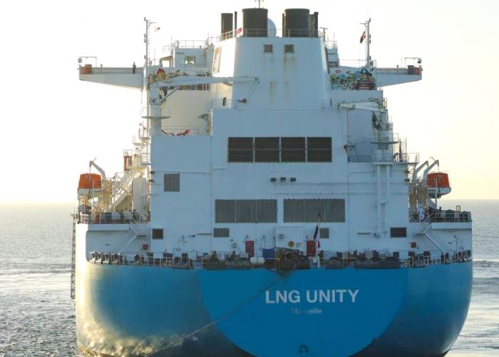 Foto barco lng